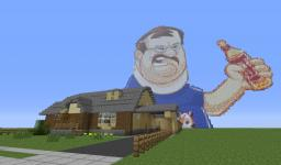 House of the Tourette's Guy Minecraft Map & Project