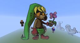 LoZ: Majora's Mask: Deku Link Minecraft Map & Project