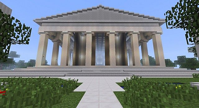 Greek Architecture Minecraft contemporary greek architecture
