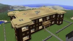 The starter house Minecraft