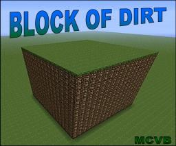 Block of Dirt (challenge map) Minecraft Project