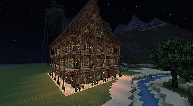 Modern houses interior - Old School House Minecraft Project