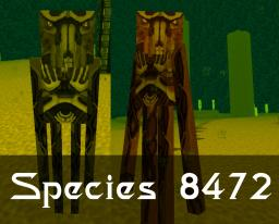 Species 8472 [Enderman] Minecraft Map & Project
