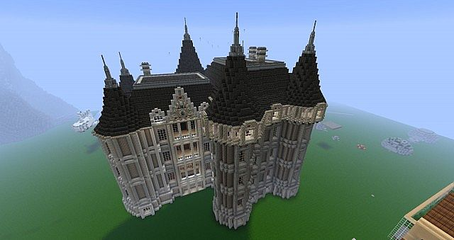 Romantic chateau minecraft project - Chateau de minecraft ...