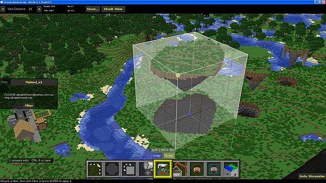 Floating Island - usage