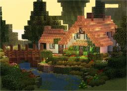 Stream Cottage Minecraft Map & Project