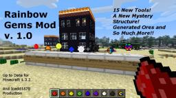 Rainbow Gems v 1.0 (Needs Modloader) Minecraft Mod