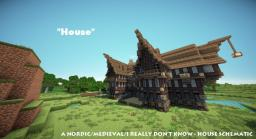 'House' - Literally, just a house Schematic Minecraft Map & Project
