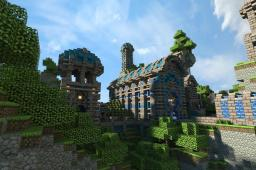 Library of the Shard Isles [150 subs!] Minecraft Project