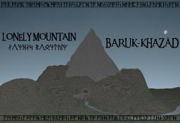 The Lonely Mountain: Erebor Minecraft