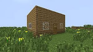 Tutorial Building A Basic House Minecraft Blog