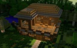 Tutorial on how to make a house Part 1 (Infini Garde) Minecraft Blog