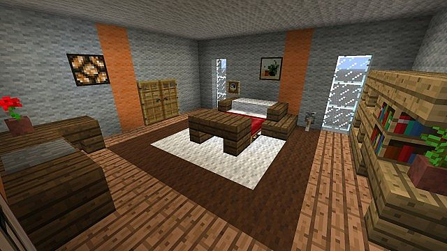 schlafzimmer bedroom minecraft project