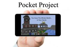 Pocket Project - you have the whole world...in your hands Minecraft Map & Project