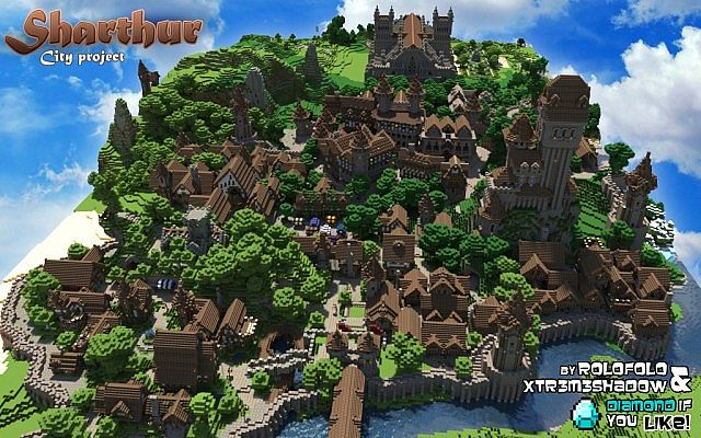 Minecraft medieval map [download! ] youtube.