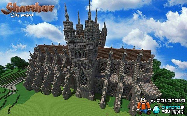 Minecraft Medieval City Download [MEDIEVAL CITY] Sharth...