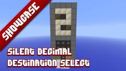 Silent destination selector Minecraft Map & Project