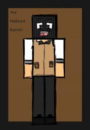 The Ma5ked Bandit Speed Art! By xNinja_Boyx Minecraft Blog