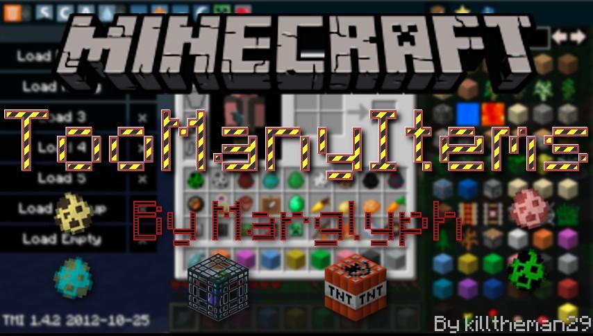 minecraft too many items mod mac