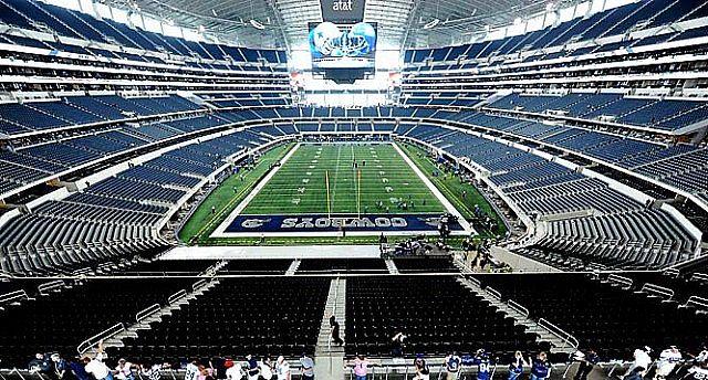 Dallas Cowboys Stadium Minecraft Project