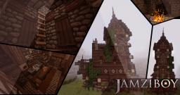 Another Gothic House Minecraft Project