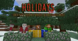 Holidays (1.4.7) Santa Mob, Elf Mob, Presents and More! [WIP] Minecraft