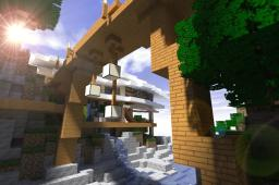 Mikeyto1o's modern Island [250 sub special] Minecraft Map & Project