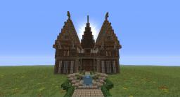 Medieval Mansion Minecraft Map & Project