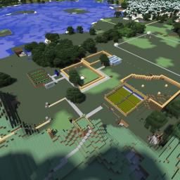 Big Survival World Minecraft Map & Project