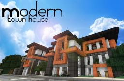 Modern Town House Minecraft Map & Project