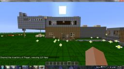 A house inspired by the black belt panda! Minecraft Map & Project