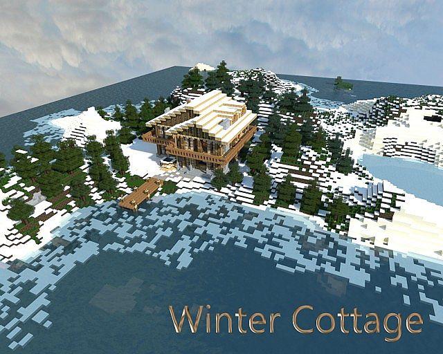 WinterCottageMinecraftProject