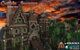 [GOTHIC] Swamp Mansion & Town project (at WOK) Minecraft