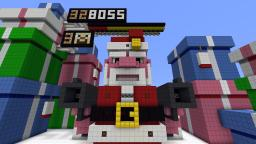 Evil Santa Boss Fight Minecraft Project