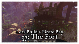 Pirate Bay #37: The Fort Minecraft Map & Project