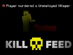 Kill Feed Minecraft Data Pack
