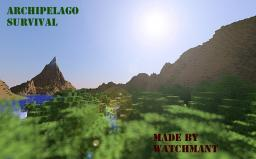 Archipelago Survival [With ORES, CAVES, CAVERNS] Hot Projects! Minecraft Map & Project