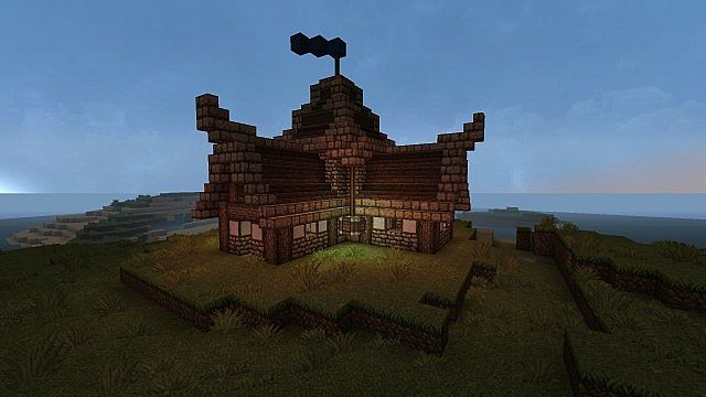 Small Medieval House Design Minecraft Project