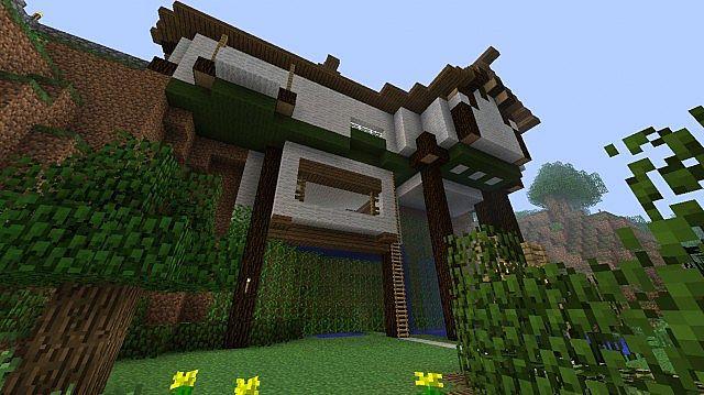 Hillside House Minecraft Project