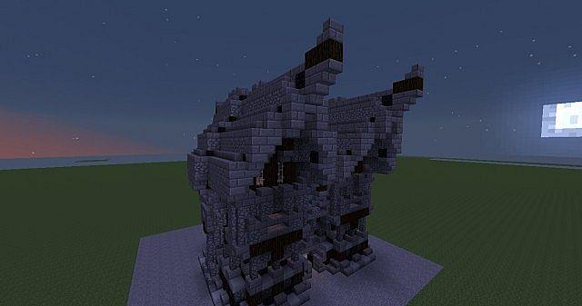 Download A Dark Medieval Stone House Medieval House V2