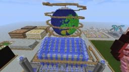 EarthRealm Globe Ride at Creeper Event's New Year Party Minecraft Map & Project