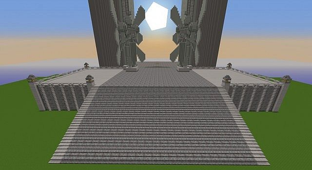 Sword Art Online World Tree Minecraft Map