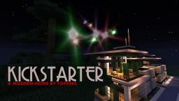 KICK-STARTER MODERN HOME Minecraft Map & Project