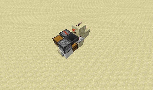Minecraft dispenser trading system