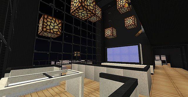 Sunset Altitude Modern Minecraft Living Minecraft Project