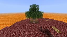 Nether Survival Island Minecraft Map & Project