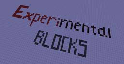 Experimental blocks V1.6.1 Minecraft Texture Pack
