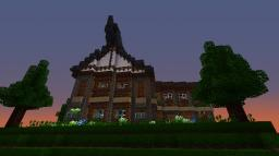 Off-axis Medieval home. Minecraft Map & Project