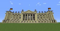Deutscher Reichstag Minecraft Map & Project