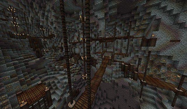 Erebor Inspired Build Minecraft Project